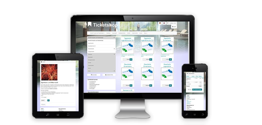 X2E.SmartShop | Webticket, Webshop & Giftcard für Schwimmbäder, Spa- & Wellnessanlagen, Museen, Veranstaltungen & Events