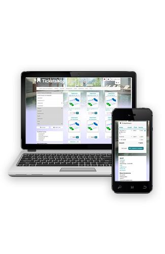 Webticketing, Webshop & Giftcard für Swimmbäder, Museen, Sportanlagen, Veranstaltungen & Events